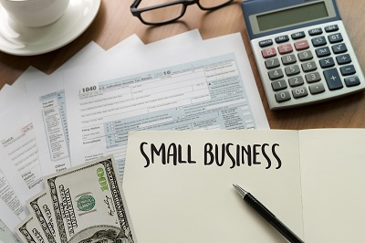 image of small business paperwork